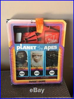 Transogram Planet Of The Apes Toy Target Game Factory Sealed Rare! Look