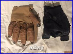 ULTRA RARE Planet of the apes 2001 Chimp Hands With Thumbs Gloves Wrist Supports