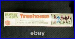VINTAGE 1967 PLANET OF THE APES TREE HOUSE PLAY SET ORIGINAL BOX ONLY MEGO Rare