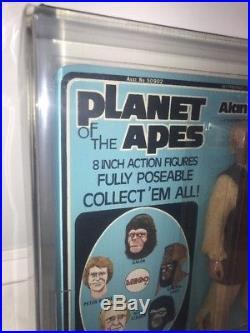 VINTAGE 1975 MEGO PLANET OF THE APES Alan Verdon AFA 80+ UNPUNCHED! MOC