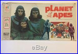VINTAGE Planet Of the Apes Board Game Vintage 1974 Milton Bradley with Sponge