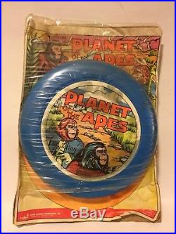 VINTAGE Planet of the Apes Frisbee Ahi POTA