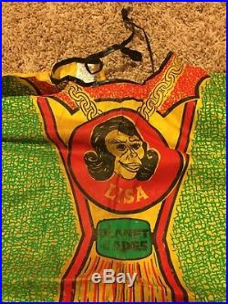 VINTAGE Planet of the Apes LISA Costume Ben Cooper 1974 Medium POTA