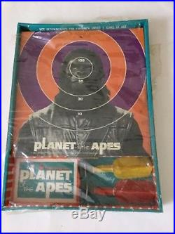 VINTAGE Planet of the Apes Safety Dart Game -Transogram 1967