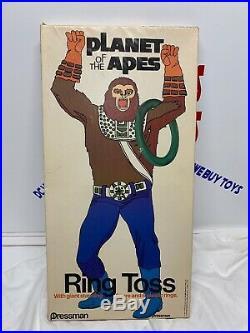 VINTAGE Pressman PLANET OF THE APES 1967 Ring Toss Scarce L@@K