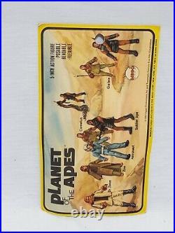 VINTAGE SEALED 1967 Mego Bend and Flex Planet of the Apes Galen Action Figure