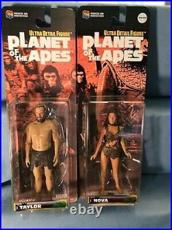 VTG 2000 Planet of the Apes Medicom Toys Ultra Detail Figures Complete set 19+2