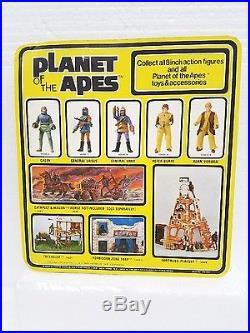 VTG Planet of the Apes mego action figure Pota General Urko sealed unpunchedCard