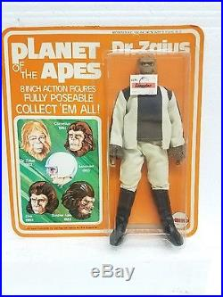 VTG Planet of the Apes mego action figure pota Dr. Zaius sealed NIPunpunched card