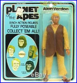Vintage 1967 Apjac Mego Planet of the Apes Alan Verdon Astronaut NM Mint withCard
