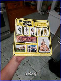 Vintage 1967 MEGO PLANET OF THE APES Galen on card