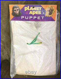 Vintage 1967 PLANET OF THE APES HAND PUPPET DR. ZAIUS COMMONWEALTH TOY UNOPENED