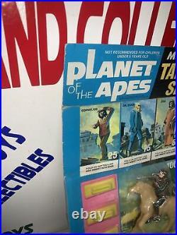 Vintage 1967 PLANET OF THE APES Original MULTIPLE TOYMAKERS TARGET SET