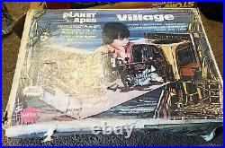 Vintage 1967 Planet Of The Apes Village Toy Playset With Original Box