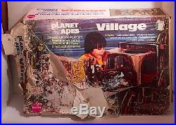Vintage 1967 Planet of the Apes Village Giant 3 Foot Playset Mego with Figures