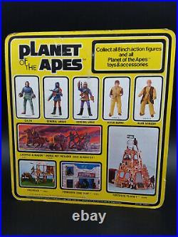 Vintage 1970s Mego Planet of the Apes GENERAL URKO moc sealed Unpunched