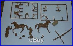 Vintage 1970s Planet of the Apes Addar Super Scenes Cornfield Roundup Model
