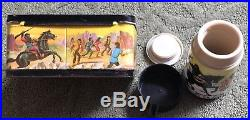 Vintage 1974 Planet Of The Apes Metal Lunch Box with Thermos Very Clean