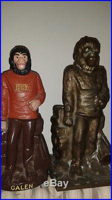 Vintage 1974 Planet of the Apes Galen BANK FACTORY MOULD FROM APJAC RARE POTA