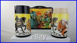 Vintage 1974 Planet of the Apes Lunchbox with Thermos and bonus Thermos