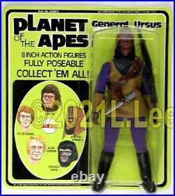 Vintage 1975 MEGO Planet of the Apes General Ursus MOC Rare super nice
