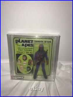 Vintage 1975 Mego Planet Of The Apes General Ursus Afa 85 Unpunched! Moc Mint