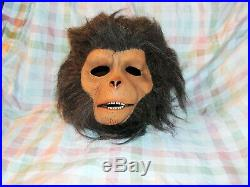 Vintage 1983 Don Post Studio Planet of the Apes Dr. Zaius Mask