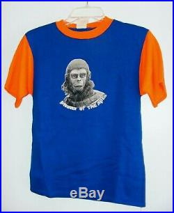 Vintage'74 Shirt Planet Of The Apes Puffy Design Roddy McDowall Cornelius Chimp