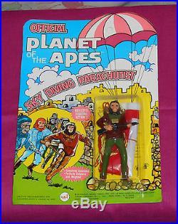 Vintage AHI Planet of the Apes POTA SKY DIVING PARACHUTIST MOC Galen