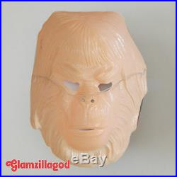 Vintage Ben Cooper Planet of The Apes Dr. Zaius Mask Halloween 1970's SAC/17