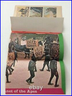 Vintage Beneath the Planet of the Apes 1970 Gold Key Comic with Poster attached