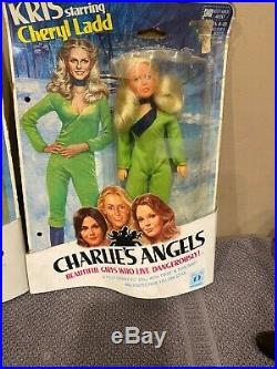 Vintage Hasbro Charlies Angels Action Figure Doll Lot Complete Set Of 4 1970s