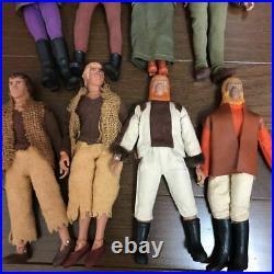 Vintage MEGO 70's Planet Of The Apes 8 Figures Set Cornelius General Ursus Rare
