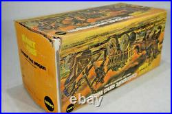 Vintage Mego 8 Planet of the Apes Catapult and Wagon in original Box