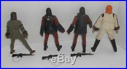 Vintage Mego Dr Zaius Cornelius 2 Soldiers Action Figure POTA Planet of the Apes
