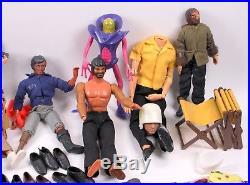 Vintage Mego Mattel Planet Of The Apes Big Jim Action Figure Toy Lot Shoes Joe