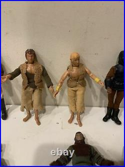 Vintage Mego Planet Of The Apes Lot Of 11 Action Figures