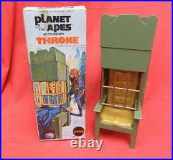 Vintage Mego Planet Of The Apes Throne Trap With Original Box Joezeta