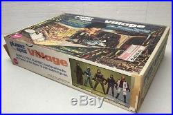 Vintage Mego Planet Of The Apes Village Playset / With Original Box / Very Nice