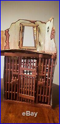 Vintage Mego Planet of the Apes Forbidden Zone Playset with working net 60s 70s