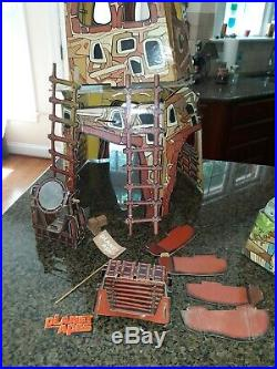 Vintage Mego Planet of the Apes Fortress Playset 1967 used as shown in pictures