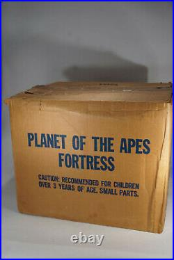 Vintage Mego Planet of the Apes Fortress Playset Sears Exclusive in Box
