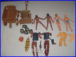 Vintage Mego Planet of the Apes Used Figure Wago & Accessories Urko Soldier