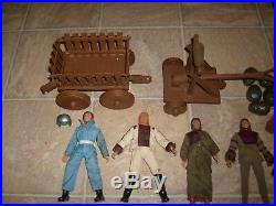 Vintage Mego Planet of the Apes Used Figure Wago & Accessories Urko Soldier Lot