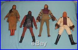Vintage Mego Planet of the Apes pota SOLDIER APE, CORNELIUS, ZIRA, DR. ZAIUS LOT