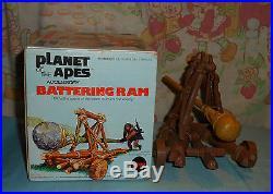Vintage Mego pota PLANET OF THE APES BATTERING RAM in box