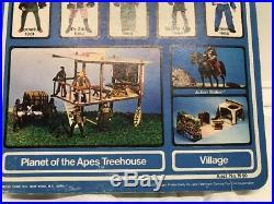 Vintage PLANET OF THE APES Cornelius 1967 MEGO MINT ON CARD Crack Bubble