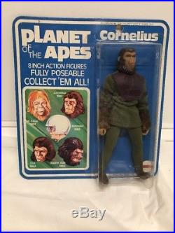 Vintage PLANET OF THE APES Cornelius 1967 MEGO MINT ON CARD RARE