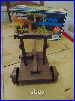 Vintage Palitoy Bradgate Planet of the Apes Rock Launcher