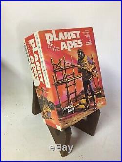 Vintage Planet Of The Apes Addar General Alde 1973 Rare Vintage Model Kit